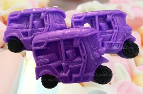 008-0004 รถตุ๊กตุ๊กสีม่วง