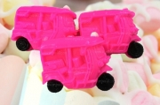 008-0005 รถตุ๊กตุ๊กสีชมพู