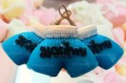 008-0009 กางเกงมวยสีฟ้า
