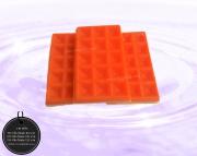 003-0030 วาฟเฟิลสีส้ม