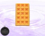 003-0031 วาฟเฟิลสีครีม-ส้ม