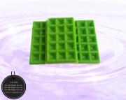 003-0032 วาฟเฟิลสีเขียว